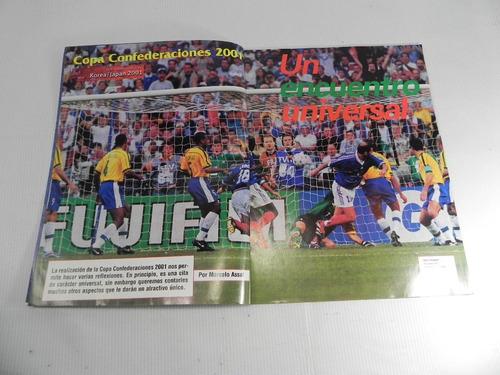 copa confederaciones 2001. instructivo