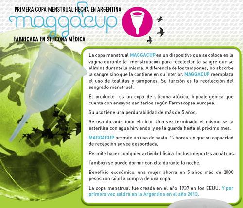 copa copita menstrual maggacup hecho en argentina