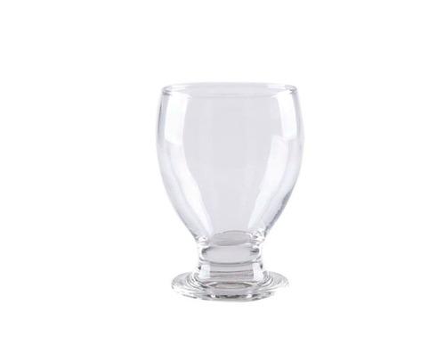 copa cristal agua o jugo 300 ml x 6 pzs