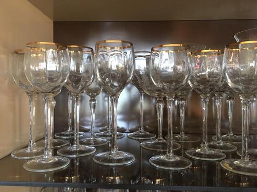 copa cristal vajilla