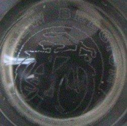 16 oz 100831 Globe Beer Glass New Belgium Brewing Co