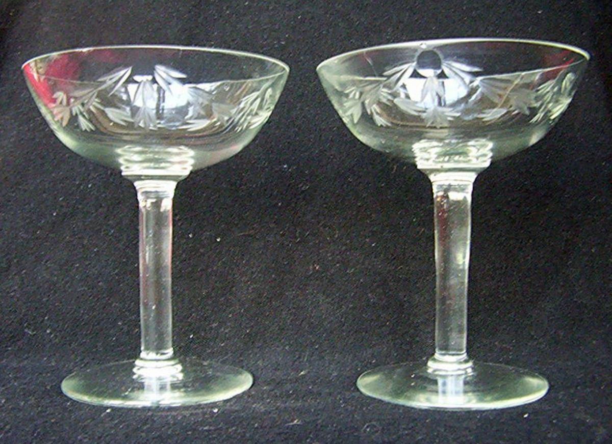 Copa de champagne cristal yungay de coleccion para reponer for Copas para champagne