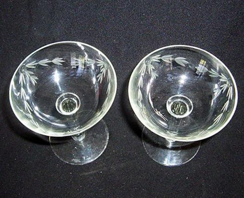 copa de champagne cristal yungay de coleccion para reponer