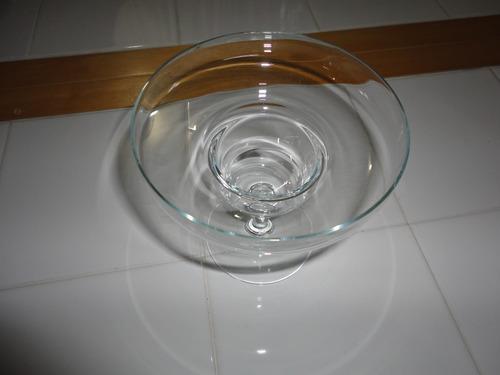 copa de cristal para helado