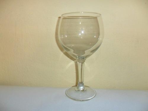 copa de jinebra de cristal lisa de 600 mls buena calidad