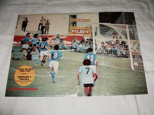 copa de oro 1980-1981.posters diario mundocolor....