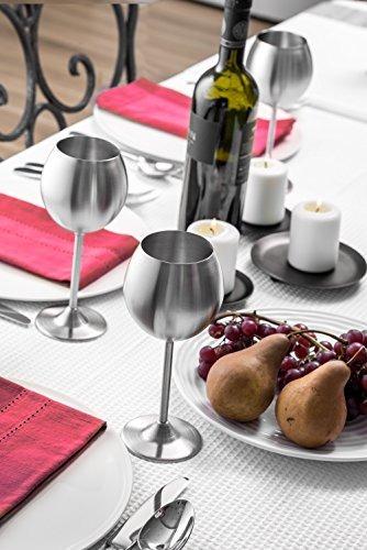 copa de vino modern innovations set de 4 12 oz