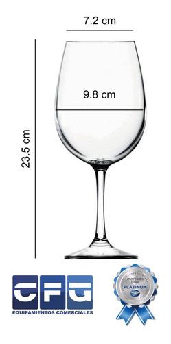 copa degustación barone nadir copón vidrio 600 ml x12