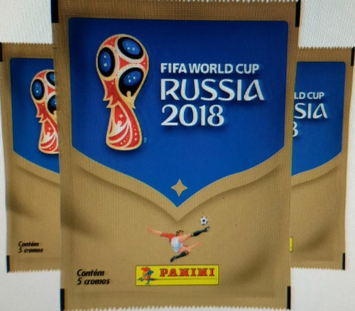 copa do mundo 2018 álbum capa dura + 300 figurinhas panini