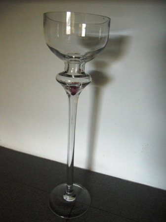 Copa Gigante De Cristal Decorativa 50cm Bs 12000000