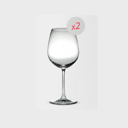 copa madison vino bordeax 600ml. packx 2 32015