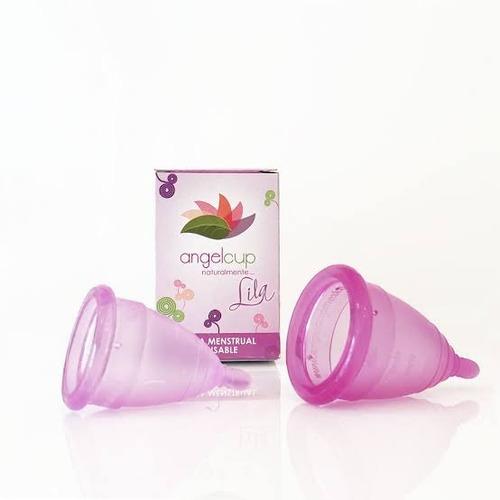copa menstrual angelcup + vaso esterilizador