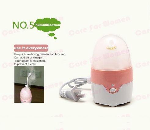 copa menstrual con esterilizador eléctrico