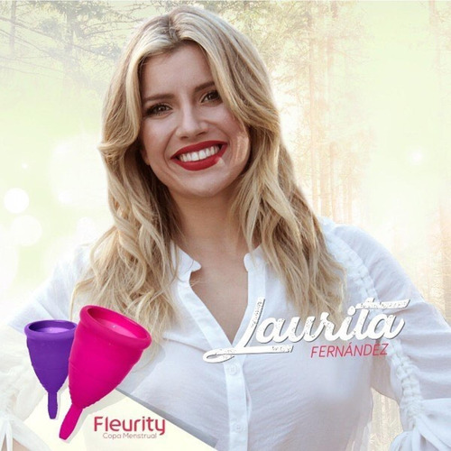 copa menstrual fleurity tipo 1 (kit x2) sin pigmento