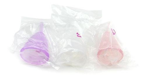 copa menstrual incluye 2 piezas chica y grande suaves segura