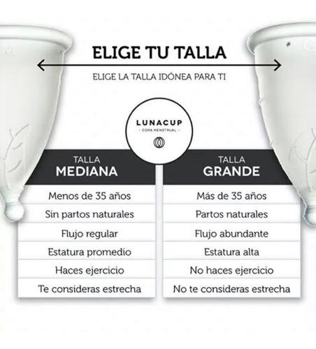 copa menstrual luna cup