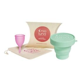 Copa Menstrual Mialuna + Vaso Esterilizador