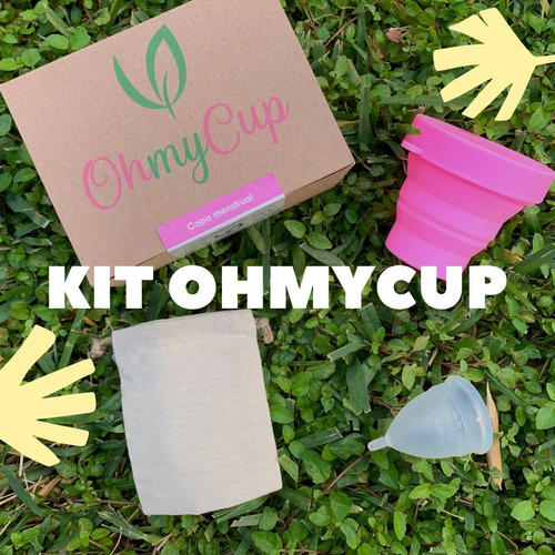 copa menstrual ¡oh my cup!  100% confiable kit completo.