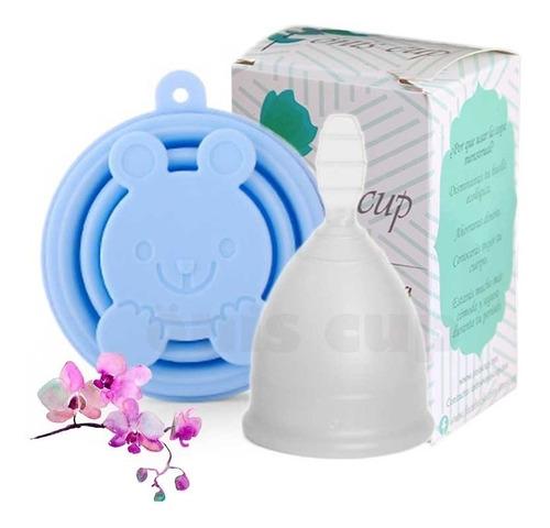 copa menstrual onis + vaso esterilizador y bolsa - envío