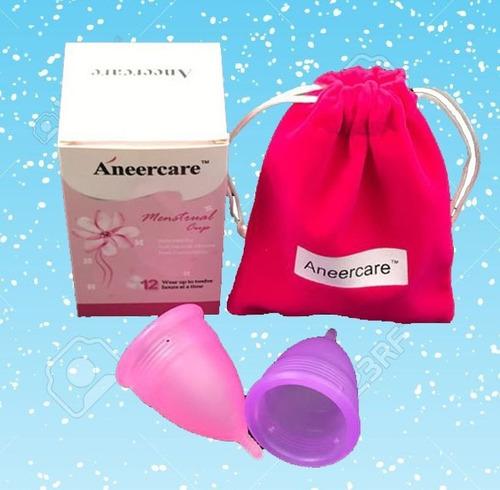 copa menstrual - segura y suave + bolsitas y envío gratis