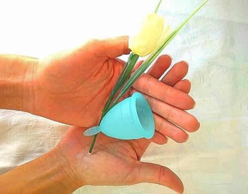 copa menstrual silicona medica+vaso esterilizador+bag promo
