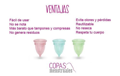 copa menstrual silicona muy suave,reutilizable, ecológica,