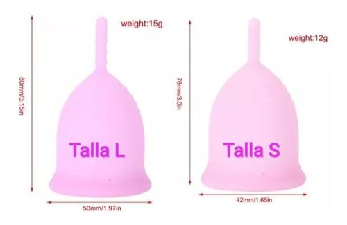 copa menstrual talla l y s  nuevas precios al mayor y detal