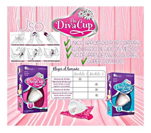 copa menstrual the diva cup modelo 1