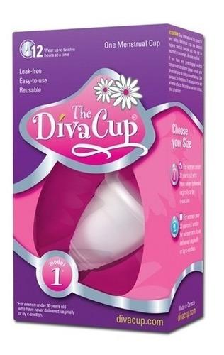 copa menstrual the diva cup reusable modelo 1 + envío gratis
