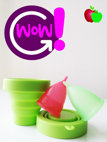 copa menstrual ultrasoft x2 +vaso esterilizador+2 eco-bags