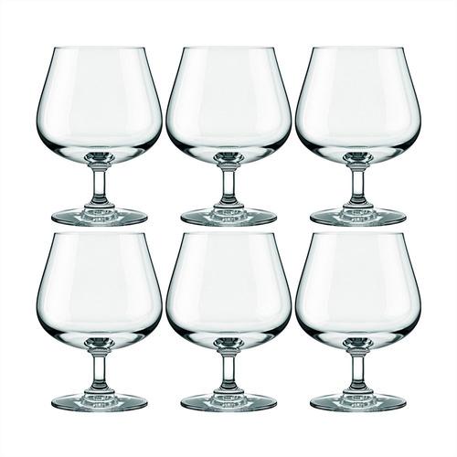 copa nadir cristal 400 ml x 6 unid. cognac