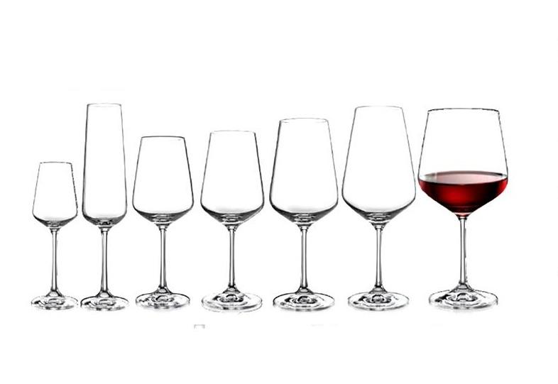 Copa para agua o vino tinto de 450 ml marca bohemia for Copas bohemia