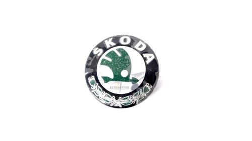 copa rin skoda fabia-octavia 56mm logo verde original