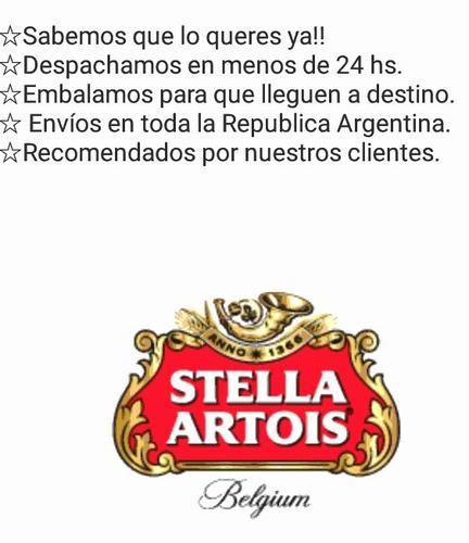 copa stella artois belgium 330-33 pack x6 nuevas 2018