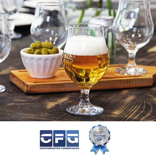 copa vidrio cerveza dublin tulipa 400 ml nadir x 6 un oferta
