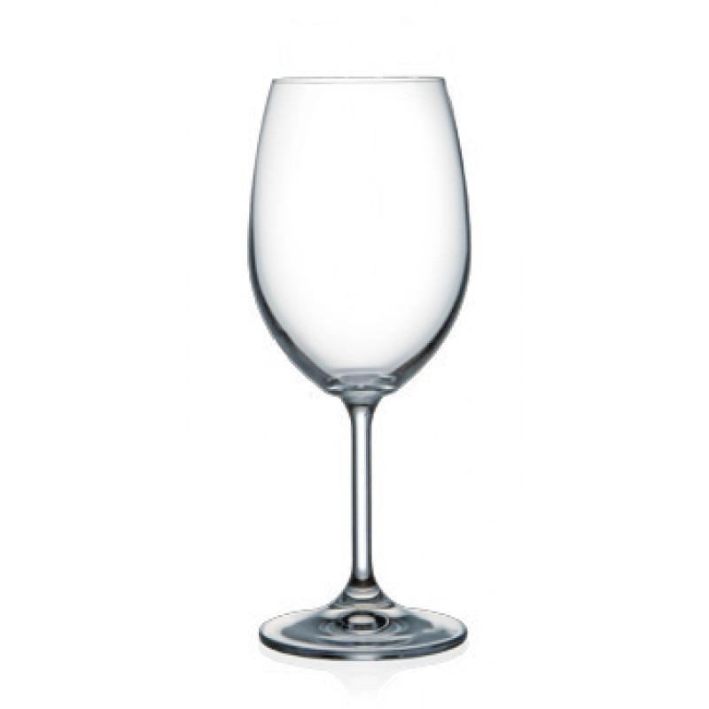 Copa vino 540 ml vino tinto blanco bohemia caja 6 unidades for Copa vino blanco