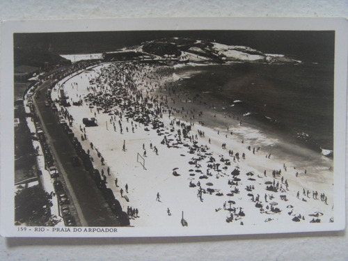 copacabana rio de janeiro três cartões antigos