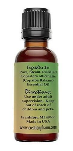 copaiba oil 30ml (1oz) - copaiba balsam essential oil 100