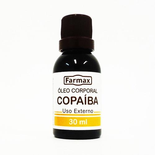 copaiba oleo 300ml farmax (10 frascos 30ml)