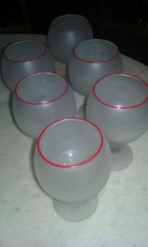 copas antiguas balon x 6