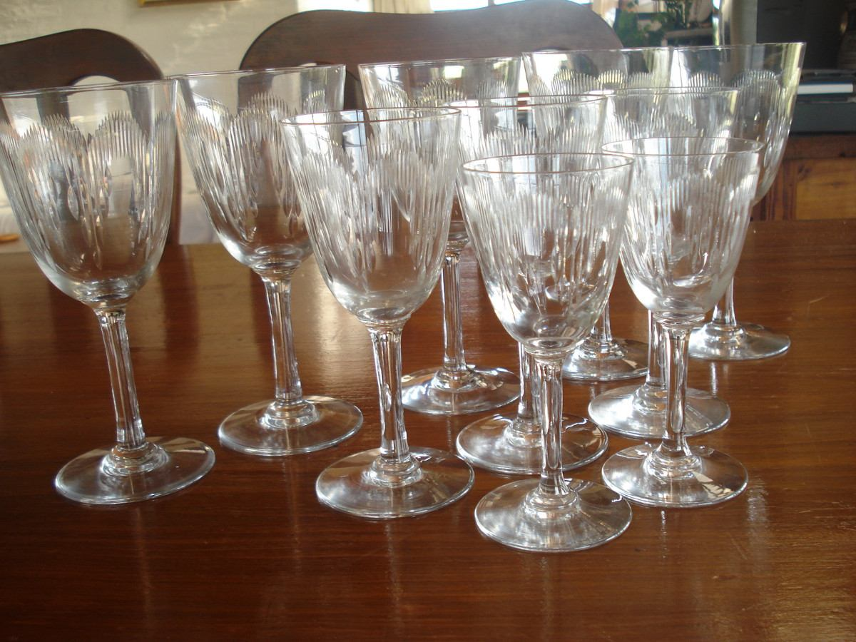 Copas baccarat cristal franc s 10 piezas a os 20 hermosas - Cristal de baccarat prix ...