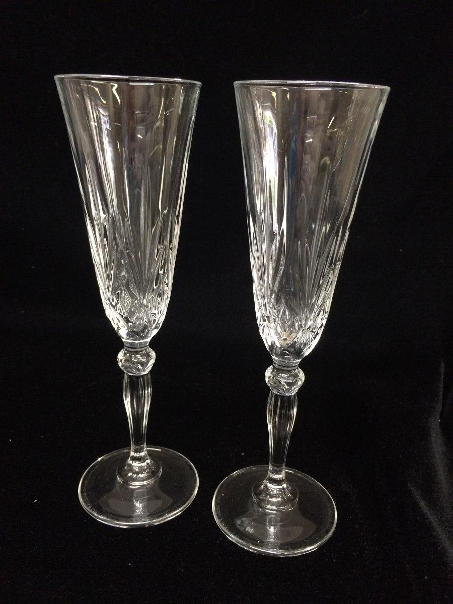 Copas brindis boda cristal en mercado libre for Copas de cristal