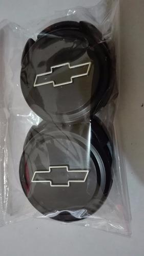copas centrales de rin chevrolet 5 cm diametro universal x4