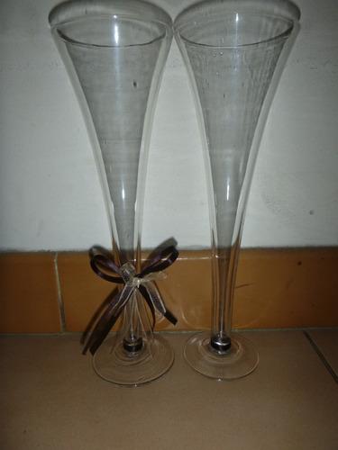 copas de cristal de bohemia para boda, novios