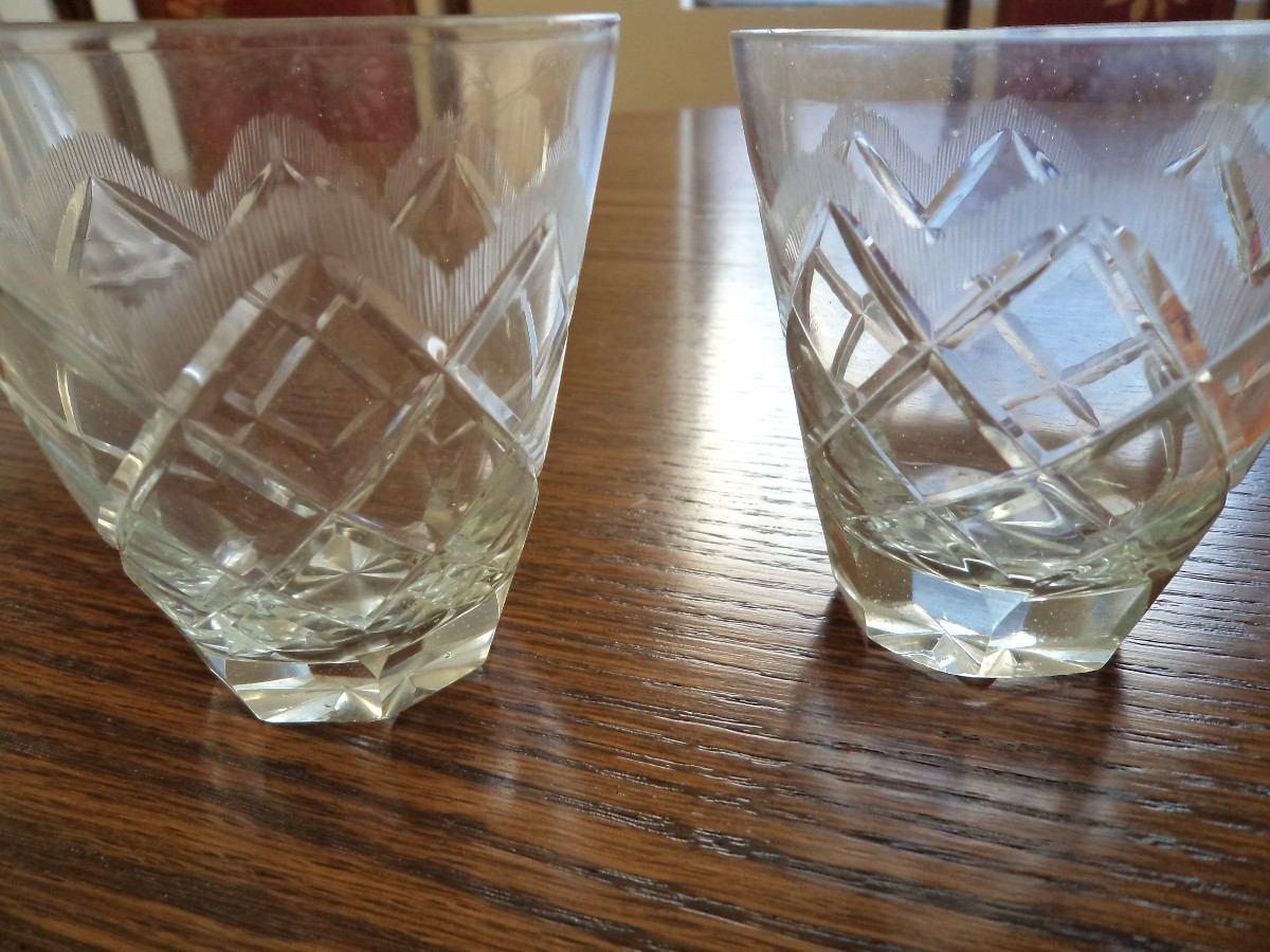 Copas de cristal tallado a mano en mercado libre for Copas decoradas a mano