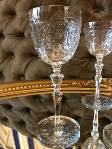 copas de cristal vino tinto 20.000 c/u