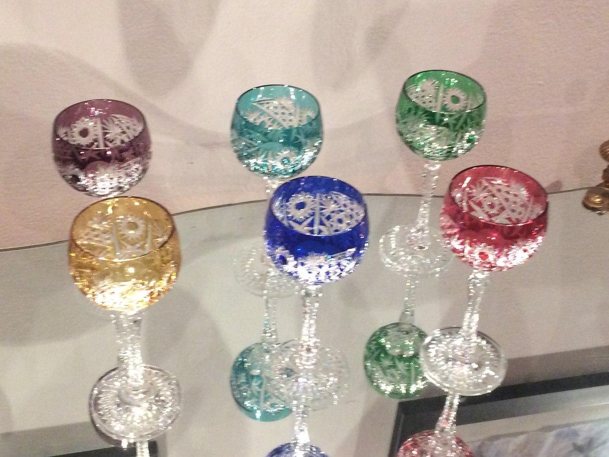 Copas den cristal de bohemia 8 en mercado libre for Copas bohemia