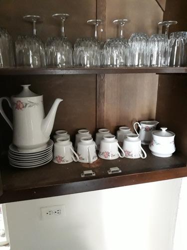 copas, juego de té  y juego de vasos&copas