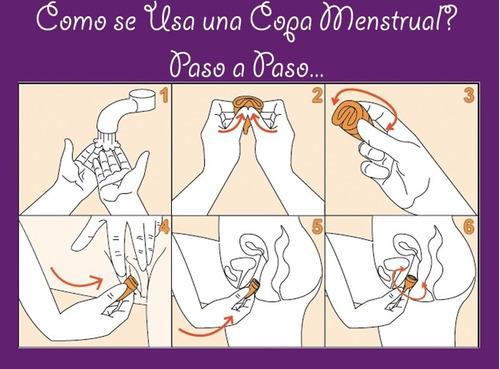 copas menstruales tallas s y l + regalo. mayor y detal