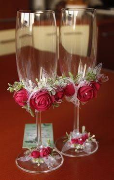 Copas para xv a os boda en mercado libre - Como decorar copas para boda ...